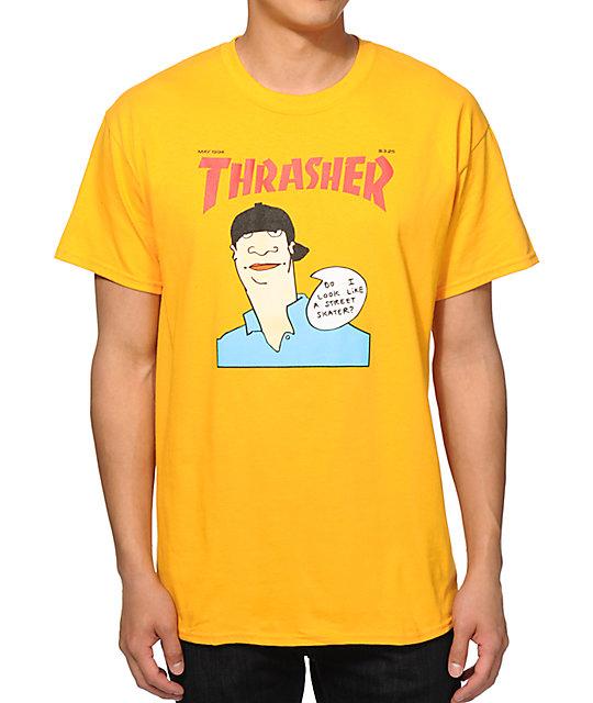 db05190417be Thrasher Gonz Cover T-Shirt | Zumiez