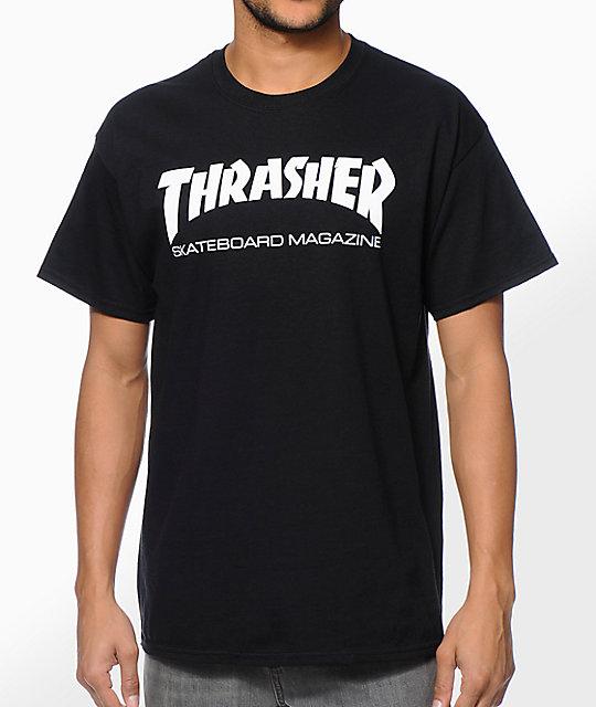 c7d8d7fbcbcc Thrasher Skate Mag Black T-Shirt | Zumiez