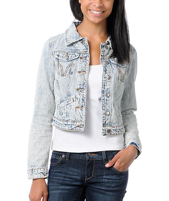 63a6e40a3 Thread and Supply Acid Wash Vintage Jean Jacket | Zumiez