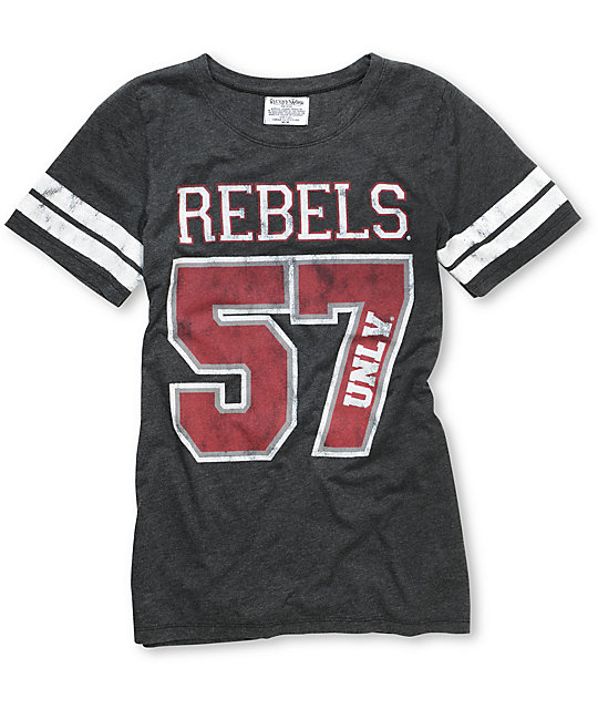 online store 3fa05 b7769 UNLV Rebels Crew College Football T-Shirt | Zumiez