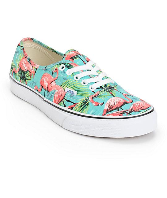 Vans Authentic Van Doren Flamingo Skate Shoes