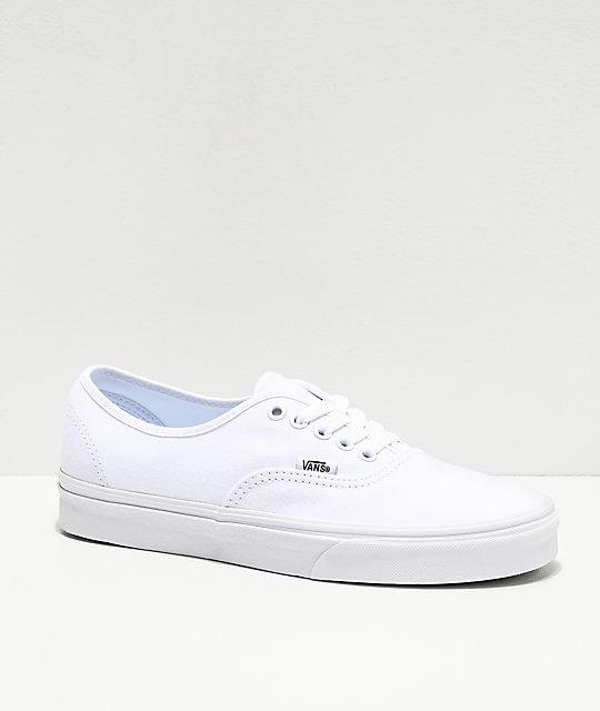 Zapatos Vans Authentic De BlancashombreZumiez Skate jq4AR5Lc3