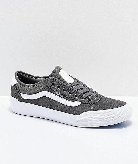 2 Skate Vans Zapatos Pro De Pewter Chima USzqpMVG