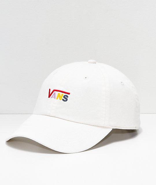 1568648d Vans Courtside Cream Strapback Hat | Zumiez