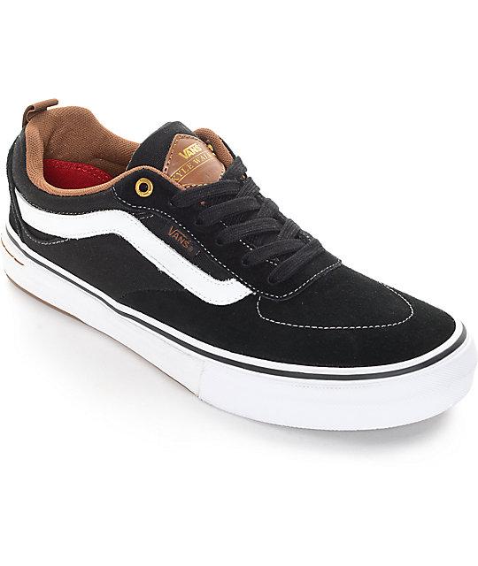 9763ef61dcdb9 Vans Kyle Walker Pro Black and Gum Skate Shoes | Zumiez