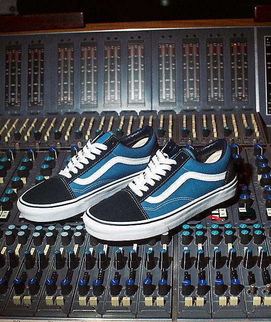 Vans Navy & Blue Classic Old Skool Sneakers