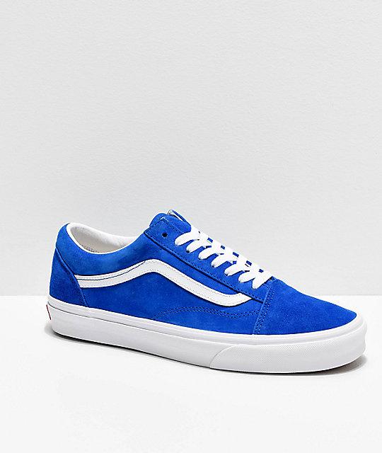 Vans Skate Suede Azules Pig Princess Skool Old De Zapatos 34RLS5qcjA