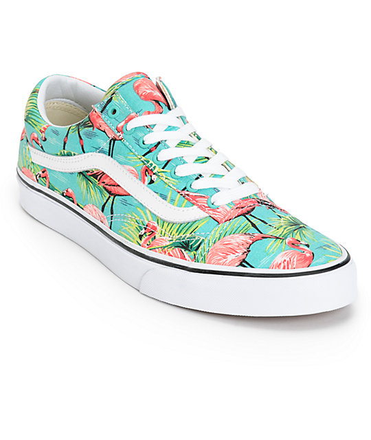 Vans Old Skool Van Doren Flamingo Skate Shoes