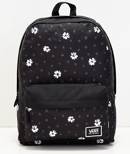 28f0f502a1 Vans Realm Classic Abstract Daisy Backpack