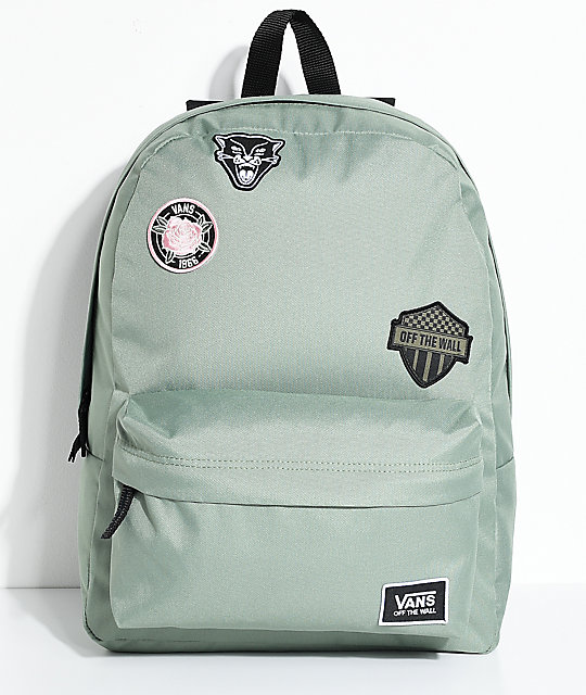 3fbfcb3ea07e9f Vans Realm Sea Spray Patch 22L Backpack