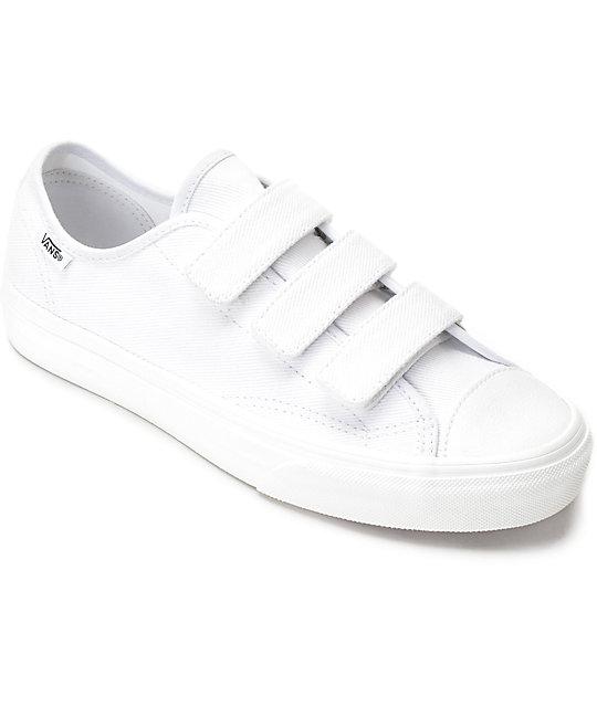 Mujeres Vans Blancos Style Zapatos 23v Para 8nwOPk0