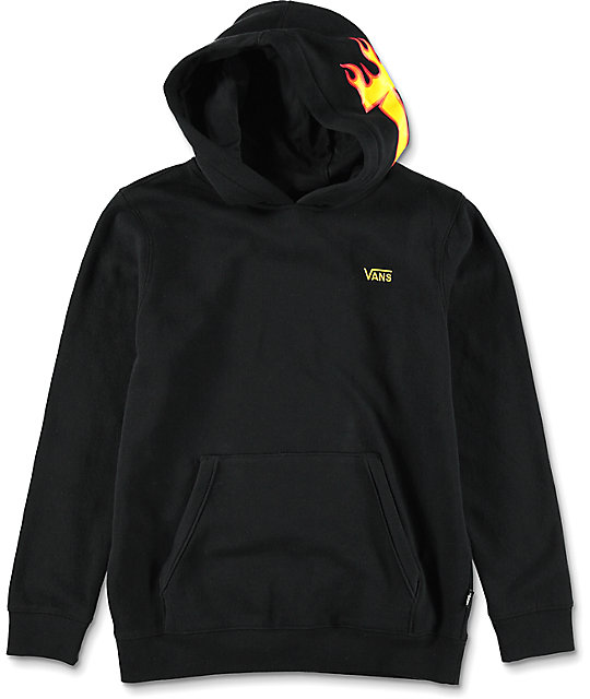 vans x thrasher hoodie bianche