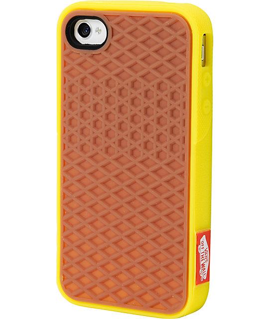 new arrival b925f eebd1 Vans Yellow Iphone 4 Case   Zumiez