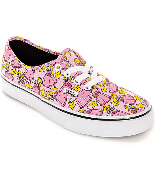 vans princess shoes