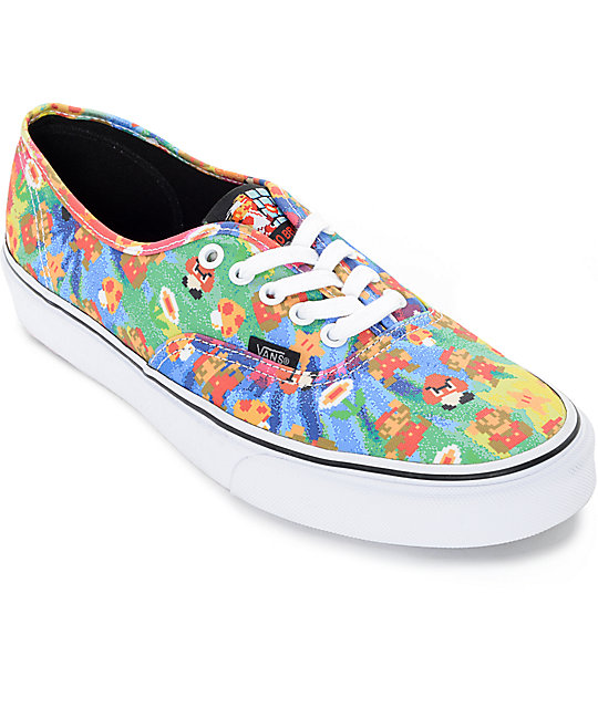 nintendo vans shoes