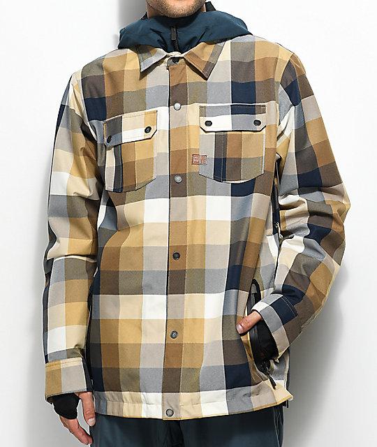 e822395d988f3a Volcom Creedle2Stone Khaki 10K Snowboard Jacket | Zumiez