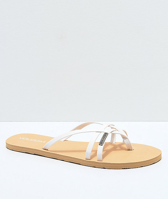 Volcom Lookout Lookout 2 Volcom Sandals White nOmN08wv