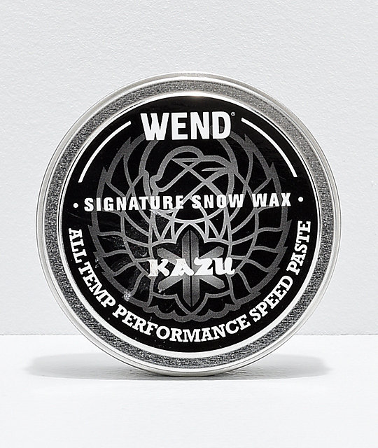 Wend Kazu Kokubo Speed Paste Snowboard Wax