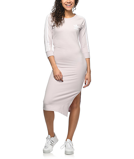 Lavender Dress Stripe 3 Midi Adidas jq4cA35RL
