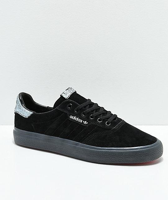 3a7f4990bdc ... adidas 3mc black white grey shoes zumiez ...