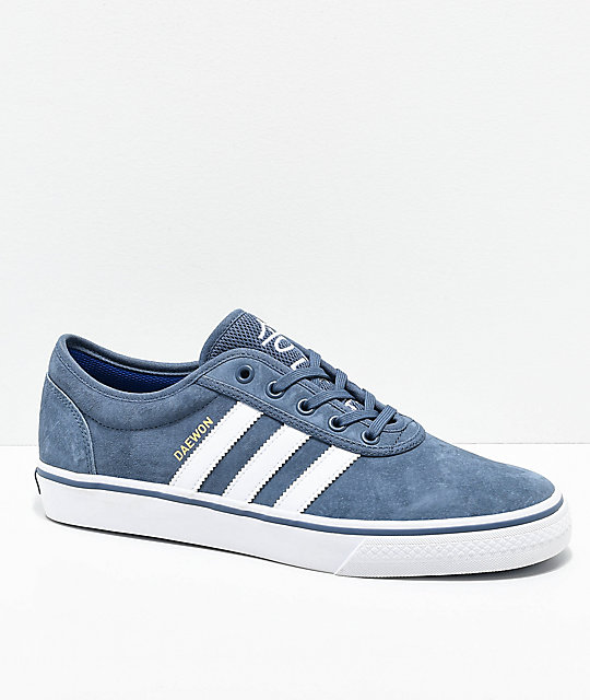 premium selection 60dd8 6f4f3 adidas AdiEase Daewon Ink Blue Shoes   Zumiez