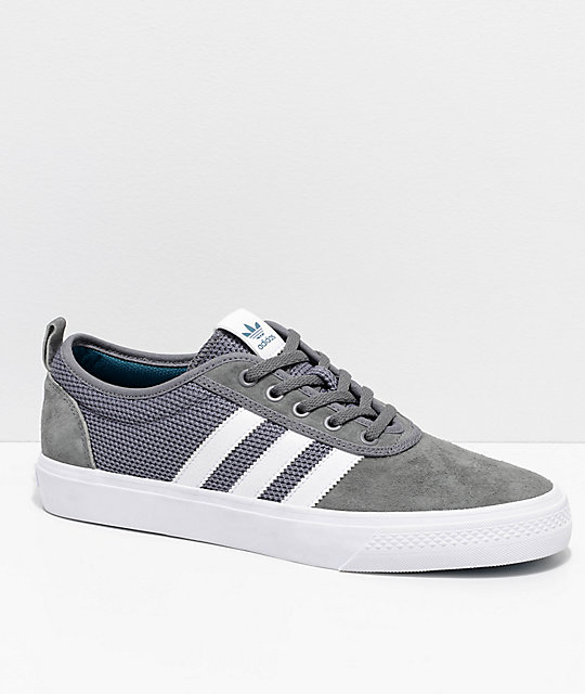 Adiease Adidas Greyamp; White Adidas Adiease Greyamp; Shoes T1FJlcK3