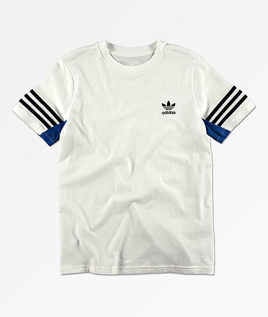 e16c4ead7 adidas Boy's Authentic White T-Shirt | Zumiez