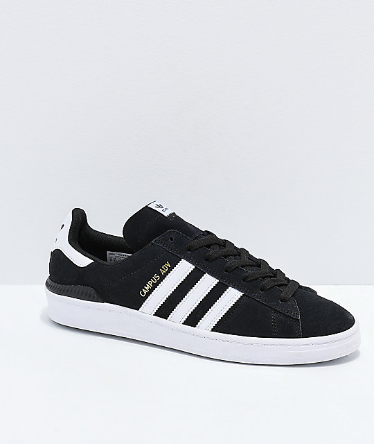 bas prix e91f6 3cf03 adidas Campus ADV Black & White Shoes