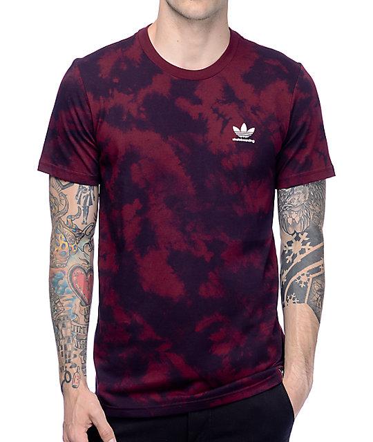 1afe7dd53 adidas Clima 2.0 Crystal Maroon T-Shirt   Zumiez