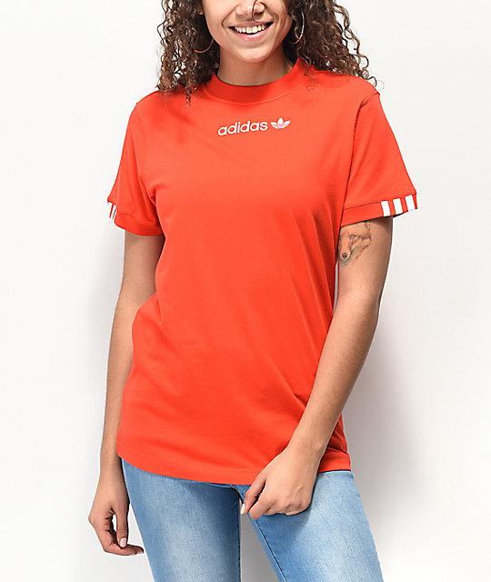 b81de413 adidas Coeeze Red T-Shirt | Zumiez