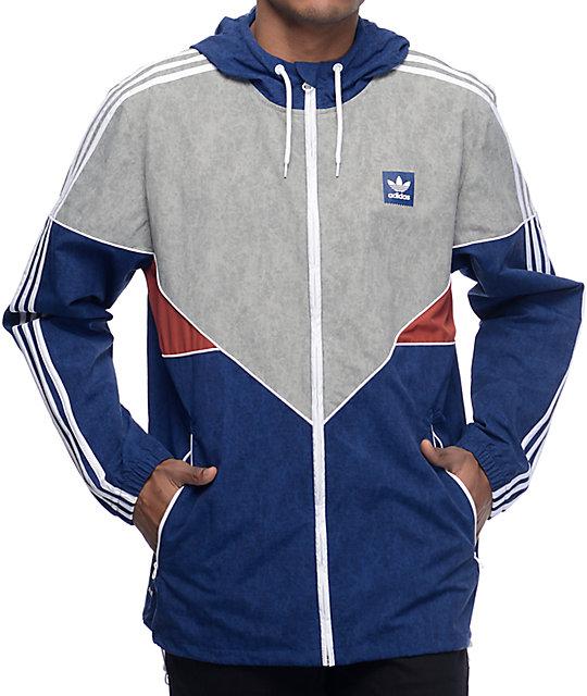 Jacket Windbreaker Adidas Colorado Nautical Blue 8ynmOvN0w