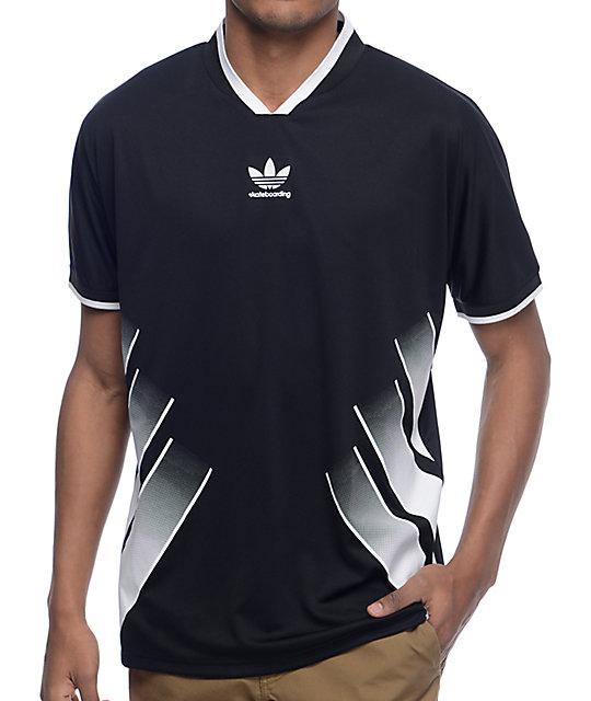best loved 38e15 39e34 adidas EQT Black Soccer Jersey