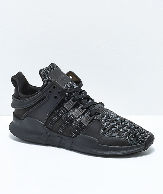 big sale 4a1f4 f9853 adidas EQT Support ADV Black Shoes