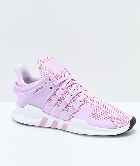 size 40 72393 6b99c adidas EQT Support ADV Pink & White Shoes