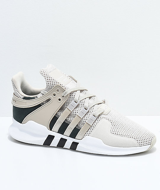 outlet store 4cb24 56726 adidas EQT Support ADV Tan & White Shoes