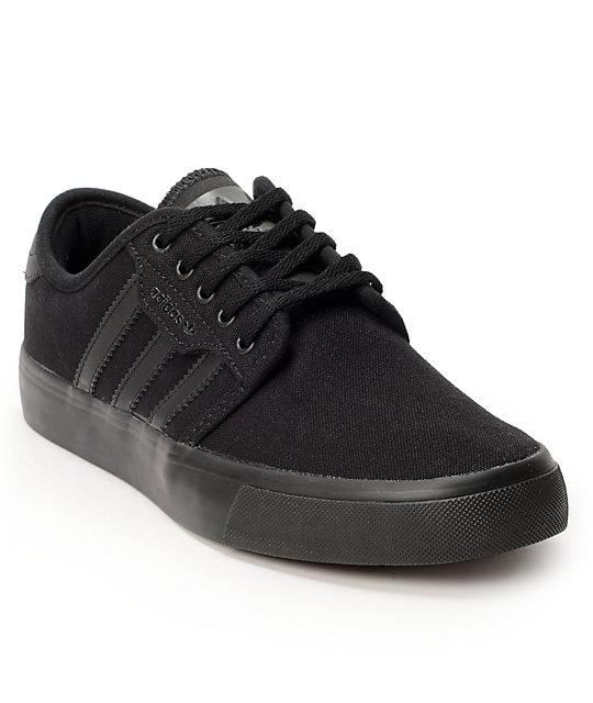 differently 3fdb3 90805 adidas Kids Seeley Black   Dark Cinder Shoes   Zumiez