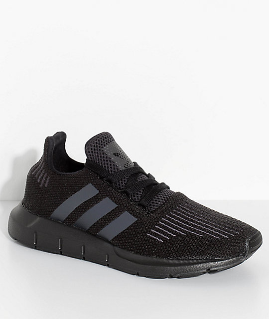 Utility Run Shoes Adidas Kids Swift Coreamp; Black WEHD29IY