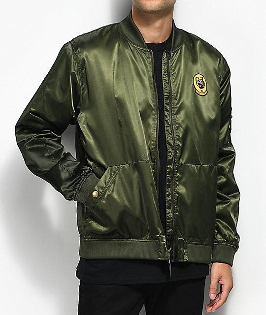 adidas MA1 Green Bomber Jacket