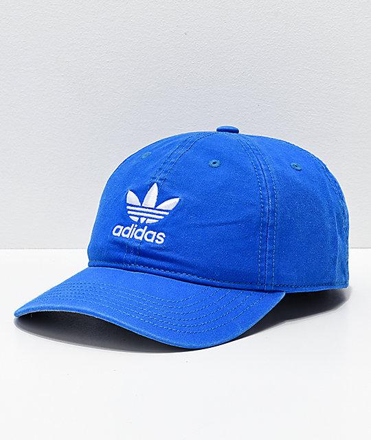 63f9b334bff619 adidas Mens Trefoil Bluebird Strapback Hat   Zumiez