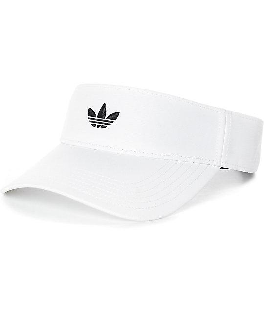 aa658da4a5726 adidas Modern White Visor | Zumiez
