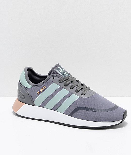 Adidas Y 5923 Zapatos Cls N Grises Blancos wPNn8O0kX