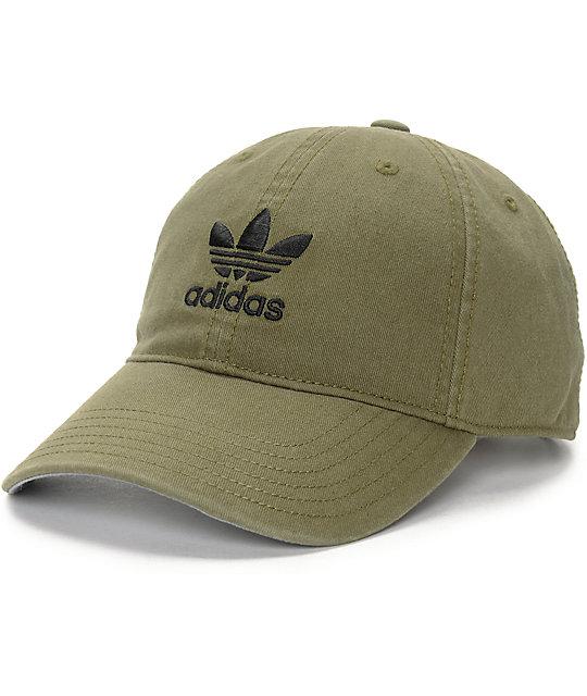 adidas Olive Baseball Hat  f4a915bffae