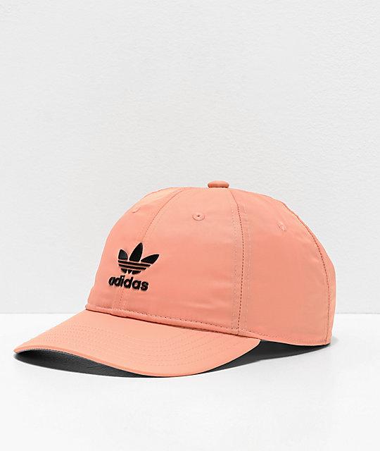 aa66e0b4da7fd adidas Originals Relaxed Modern III Pink Strapback Hat