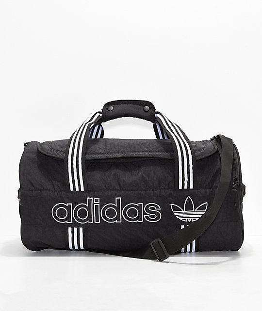ab23ecf14b0faa adidas Originals Spirit Roll Black Duffel Bag | Zumiez