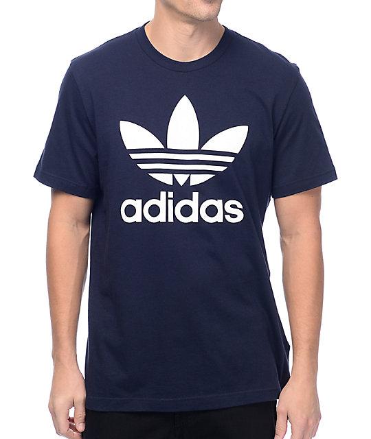 camiseta adidas original marino