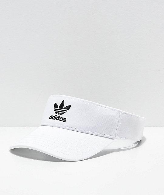 2e74e950 adidas Originals White Visor | Zumiez