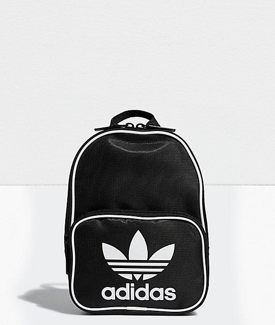 Adidas Mochila Adidas Mini Mini Santiago Santiago Negra k0PZnN8wXO