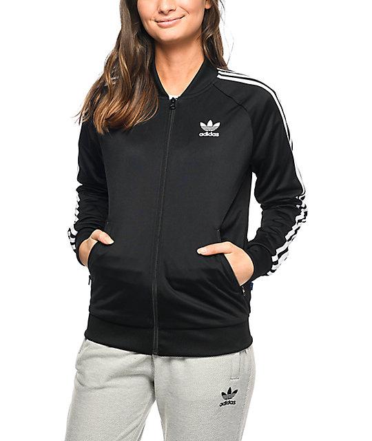 Deportiva Adidas Negro Supergirl En Chaqueta QsBtdxhrCo