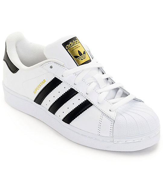 adidas Superstar White   Black Womens Shoes  1d1649ee9