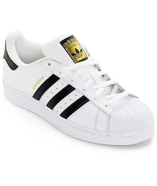 new style ea54c 70f74 adidas Superstar zapatos en blanco y negro (mujer) ...